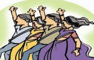 महाराष्ट्र राज्य शेतमजूर युनियन लाल बावटा यांच्या वतीनेतहसीलदारांना निवेदन