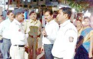 कोयनानगर चौकतील वाहतूक समस्या सोडवा; सत्तारुढ पक्षनेते एकनाथ पवार यांच्या वाहतूक पोलिसांना सूचना