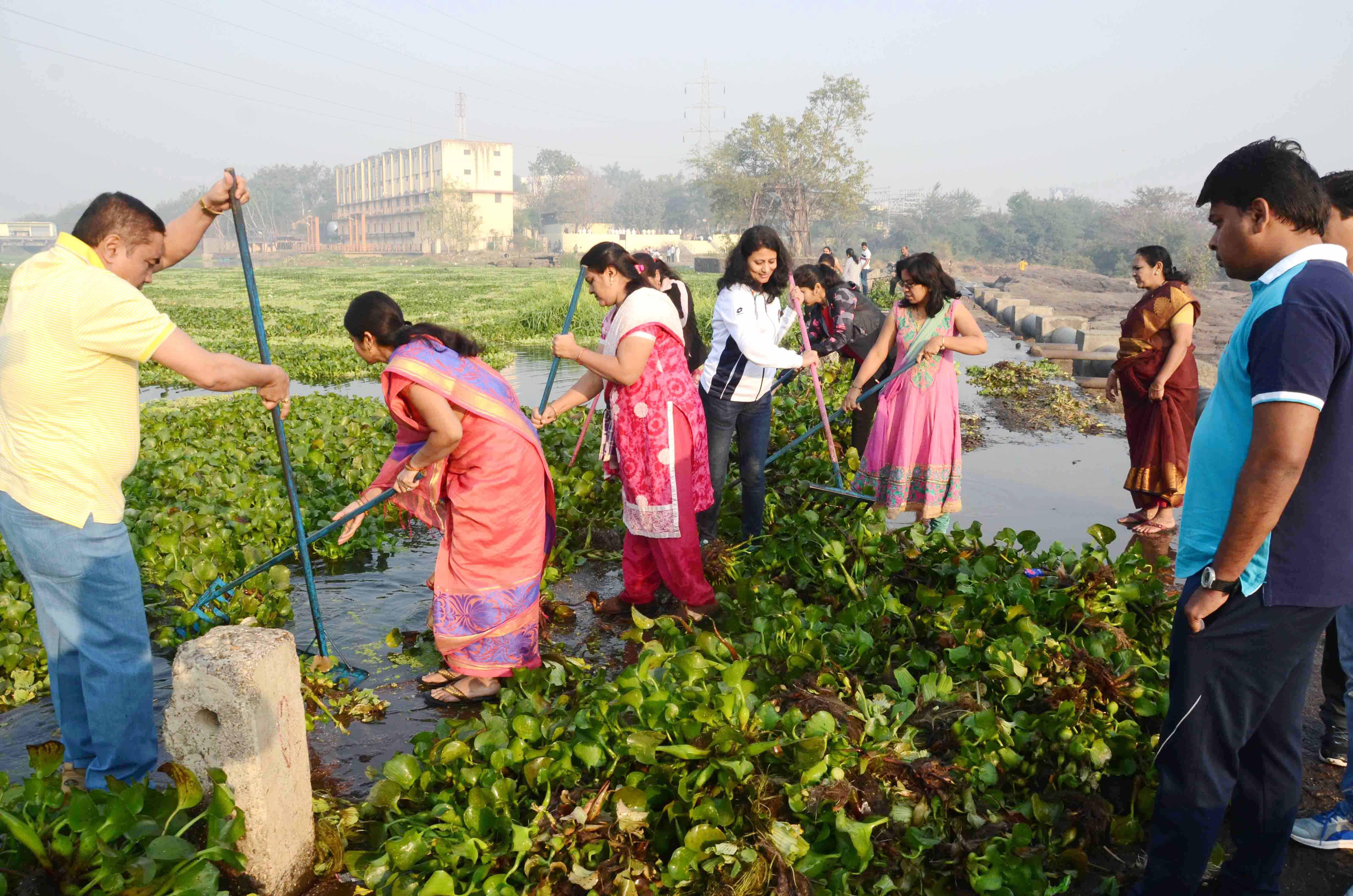 नदीस्वच्छतेचे अभियान न राहता याची चळवळ व्हावी - अंजली भागवत
