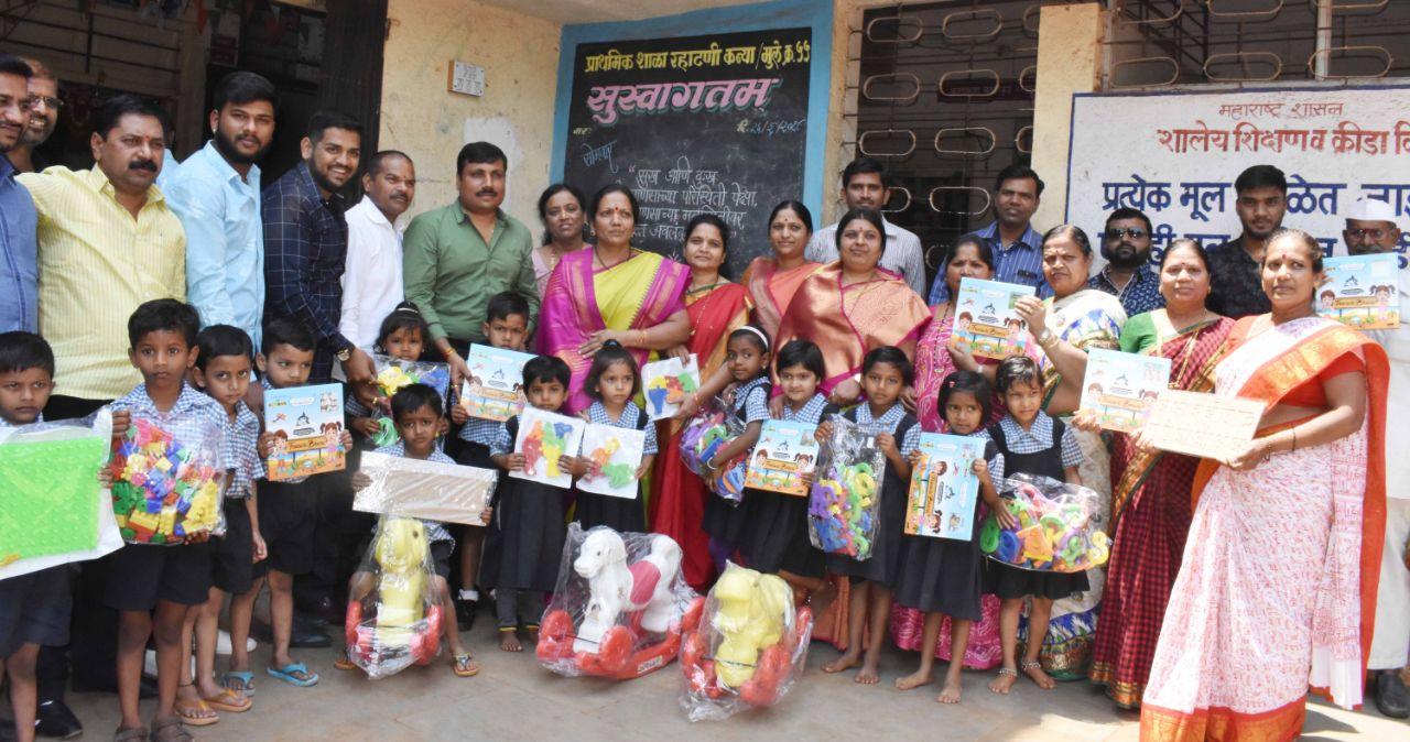 बालवाडीच्या मुलांच्या बौद्धिक व शारिरीक क्षमता वाढीच्या उपक्रमांना वाव देणार - सुनिता तापकीर