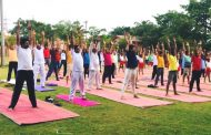 सत्तारुढ पक्षनेते एकनाथ पवार यांच्या वतीने आयोजित योग दिन कार्यक्रमात 500 नागरिकांचा सहभाग
