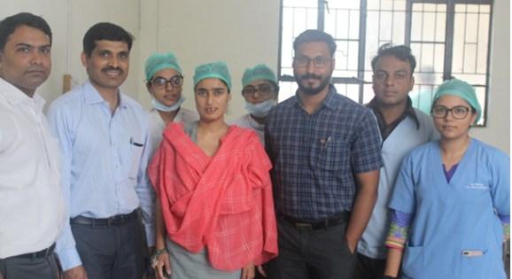 जबड्याच्या सांध्यातील गुंतागुंतीच्या ट्युमर शस्त्रक्रियेतून 21 वर्षीय काश्मिरी रूग्णाची सुटका