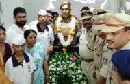 शहीद रविंद्र धनावडेचे शौर्य स्मारक युवकांसाठी शक्तीस्थळ बनावे - आ. शिवेंद्रसिंहराजे भोसले
