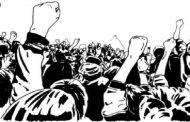 महापालिका अतिक्रमण निर्मुलन विभागाच्या कर्मचार्यांचे ठिय्या आंदोलन