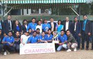 अकराव्या एम.ए. रंगूनवाला टी -टेन क्रिकेट टूर्नामेंटमध्ये 'हयात, पुणे' संघ विजयी