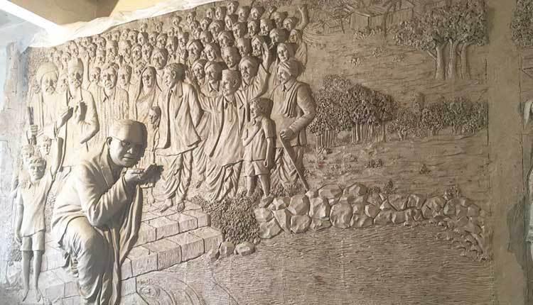 चौदा एप्रिलपूर्वी भीमसृष्टीचे काम पूर्ण न केल्यास राष्ट्रवादी माथाडी युनियनचा आंदोलनाचा इशारा