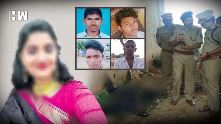 हैदराबाद बलात्कार प्रकरणातील चारही आरोपींचा एन्काऊंटर