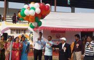 एसव्हीएस स्कूलचा क्रीडा महोत्सव रंगदार