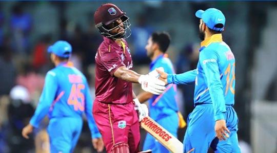भारताविरुद्धच्या दुसऱ्या वनडे वेस्ट इंडिजचा नाणेफेक जिंकून प्रथम गोलंदाजी निर्णय