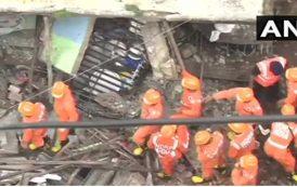 दुर्दैवी घटना: भिवंडीत इमारत कोसळली; दहा जणांचा मृत्यू
