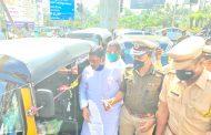 पिंपरी-चिंचवड शहरात नागरिक प्रवासी आणि रिक्षा चालक यांनी मीटरने प्रवास करावा : कृष्ण प्रकाश