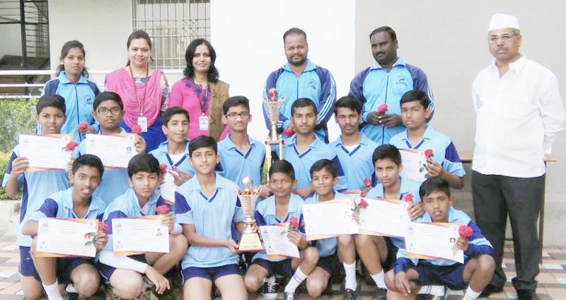 राज्यस्तरीय लगोरी स्पर्धेत पिंपरी चिंचवड पी. के. स्कूल विजयी