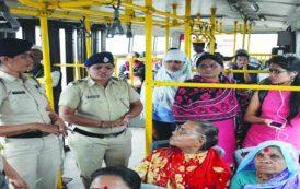 पिंपरीत शहर पोलिसांचे 'सुरक्षा अभियान'
