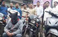 हौस म्हणून चोरी करणारा मेकॅनिक पोलिसांच्या ताब्यात; शाहूपुरी पोलिसांची कारवाही