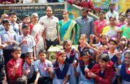 इंद्रायणीनगर येथील वैष्णोमाता प्राथमिक शाळेत रुबेलालसीकरण मोहिम